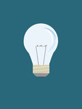 Poster: Lightbulb, by Discontinued products