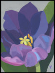Poster: Purple tulip, by Yvonnes galleri