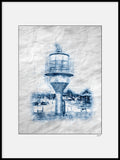 Poster: Lines II: Lighthouse Skanör, by A chapter 5 - Caro-lines