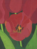 Poster: Small red tulip, by Yvonnes galleri