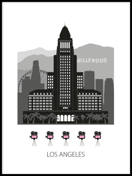 Poster: Los Angeles, by Forma Nova