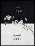 Poster: Love Lost, by Grafiska huset