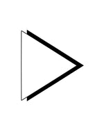Poster: Minimalist triangle, by Discontinued products