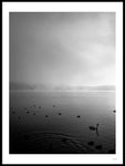 Poster: Misty Lake I, by Wintherland