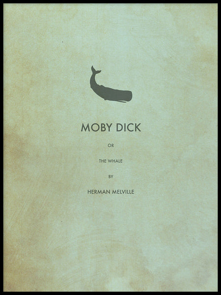 Poster: Moby Dick, by Owl Streets