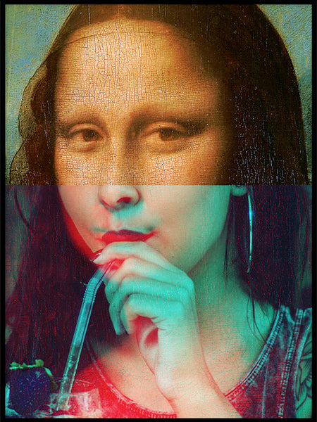 Poster: Mona Lisa, by Grafiska huset