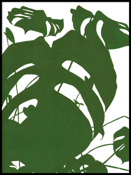 Poster: Monstera I, by Jörgen Hansson Art