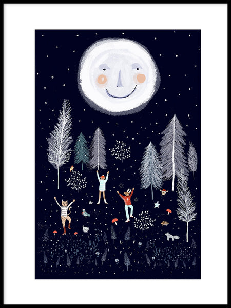 Poster: Moon Dance, by Susse Collection