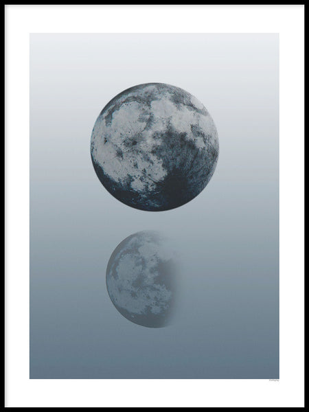 Poster: Moon Phase, by mimono