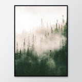 Poster: Morning fog, by Discontinued products