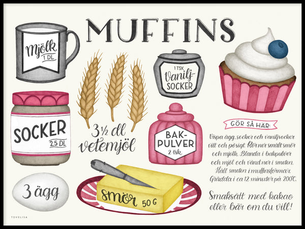 Poster: Muffin, by Tovelisa