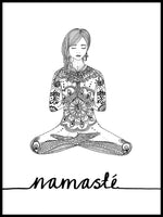 Poster: Namasté, by Discontinued products
