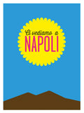 Poster: Neapel - Benvenuti a Napoli, by Discontinued products