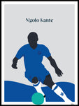 Poster: N'golo Kante, by Tim Hansson