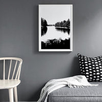Poster: Nordic Lake, by Discontinued products