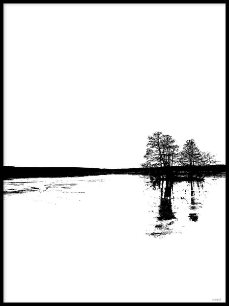 Poster: Nordic Landscape II, by Discontinued products