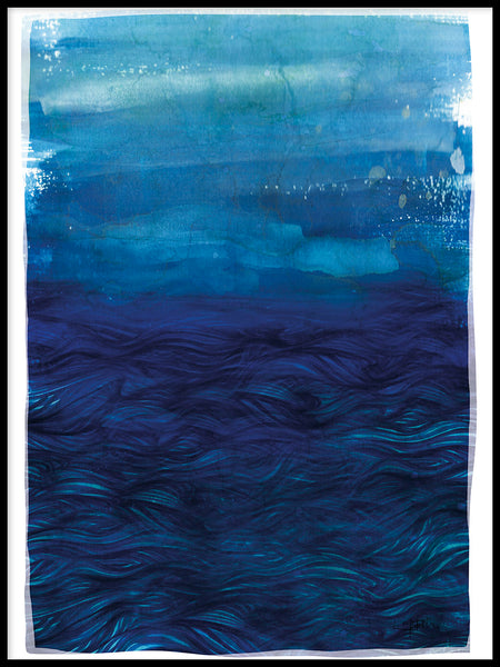 Poster: Northern Sea II, by Ingrid Fröhlich