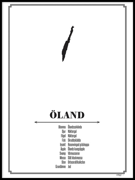 Poster: Öland, by Caro-lines