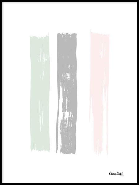 Poster: Paint Pastel, by Elina Dahl