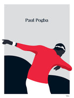Poster: Paul Pogba, by Tim Hansson