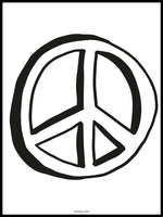 Poster: Peace, by Discontinued products