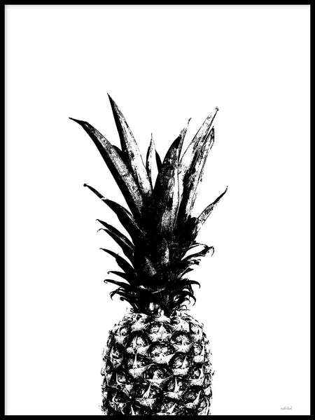 Poster: Pineapple, av Wintherland
