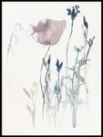 Poster: Pink Poppy 1, by Toril Bækmark