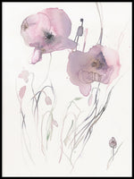 Poster: Pink Poppy 2, by Toril Bækmark