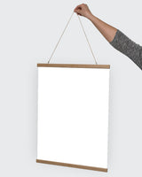 Poster: Poster hanger, oak, by Discontinued products