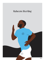 Poster: Raheem Sterling, by Tim Hansson