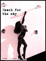 Poster: Reach for the sky, by Anna Mendivil / Gypsysoul