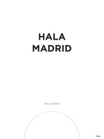 Poster: Real Madrid, by Tim Hansson