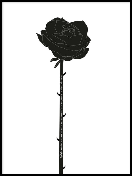 Poster: Rose, by GaboDesign