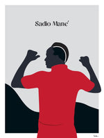 Poster: Sadio Mane, by Tim Hansson