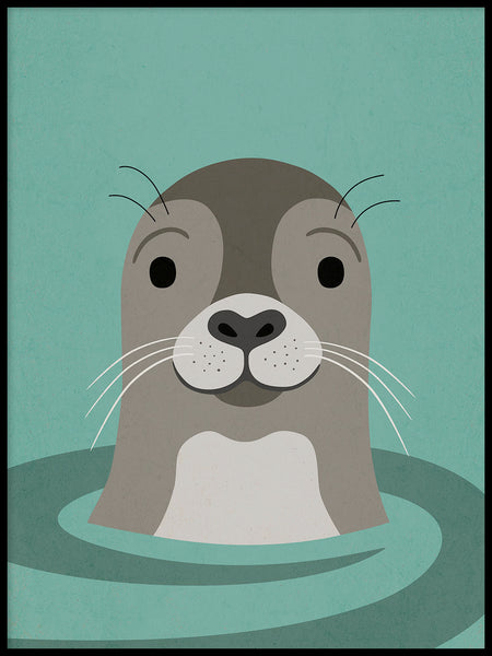 Poster: See You Seal, by Kort & Gott