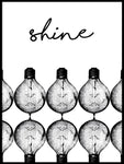 Poster: Shine, by Anna Mendivil / Gypsysoul