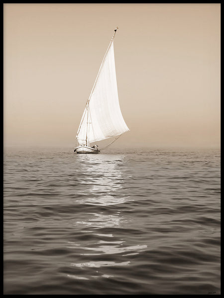 Poster: Ship on the Nile, by Caro-lines
