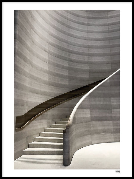 Poster: SINGAPORE - Stairway to what, by A chapter 5 - Caro-lines