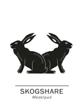 Poster: Skogshare the official animals of medelpad, Sweden., by Paperago