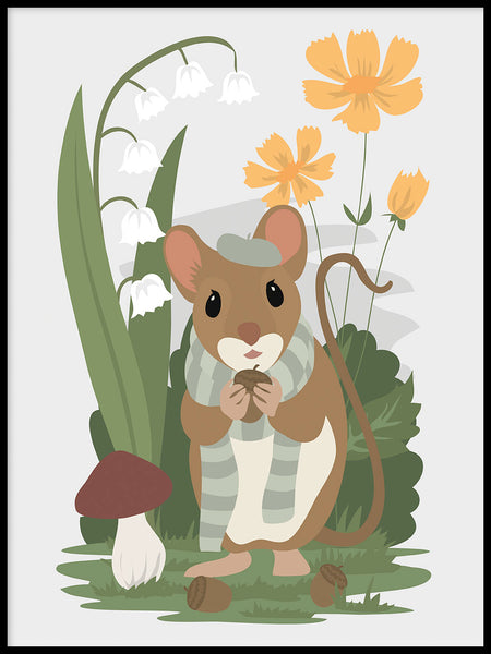Poster: Mouse, by Linn Leding