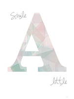 Poster: Smile a little, by ANNABOYE