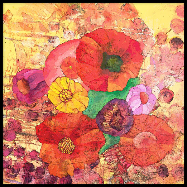 Poster: Some Poppies, by Nancy Helena Berggren