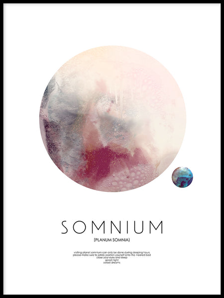 Poster: Somnium, by Discontinued products