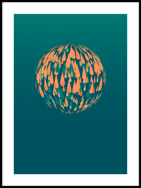 Poster: Spherical, by Jeanett Silwärn