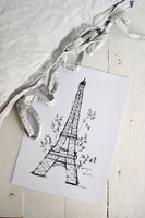 Poster: Spring in Paris, by Elina Dahl
