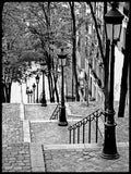 Poster: Stairs in Montmartre, by Magdalena Martin Photography