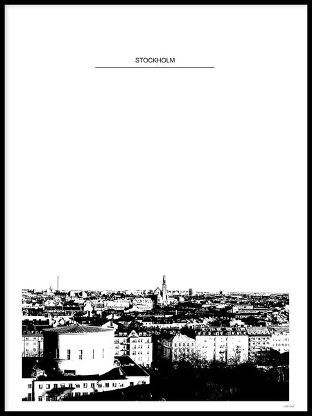 Poster: Stockholm, by Discontinued products
