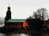 Poster: Stockholm City Hall, by Discontinued products