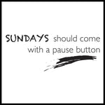 Poster: Sundays, by lindasofieolsson