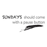 Poster: Sundays, by Discontinued products